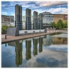 Mediapark Köln mit See
