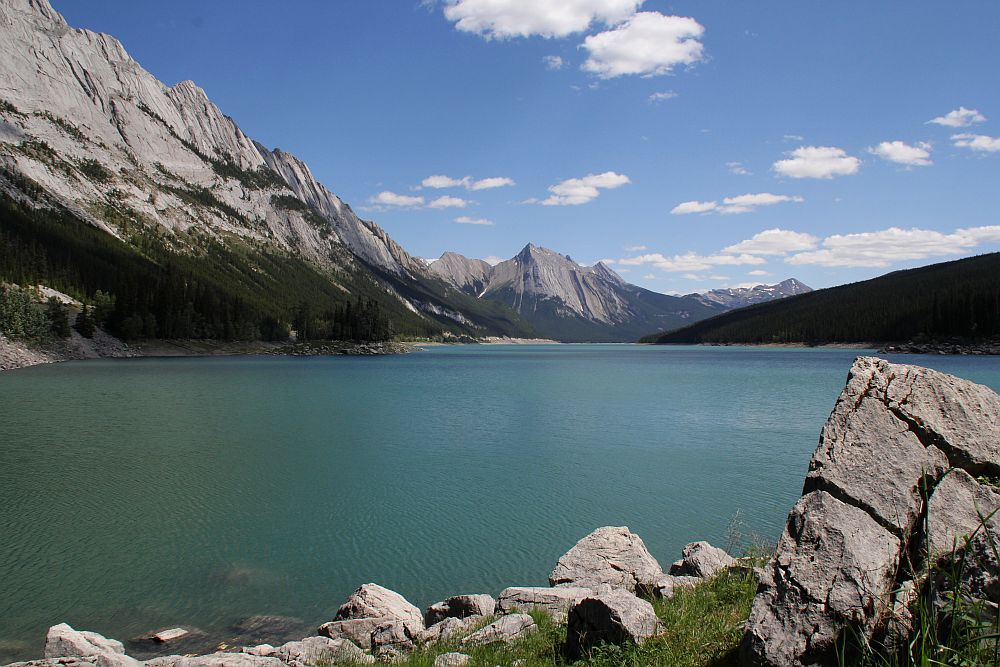 Medicine Lake im Jasper N.P.