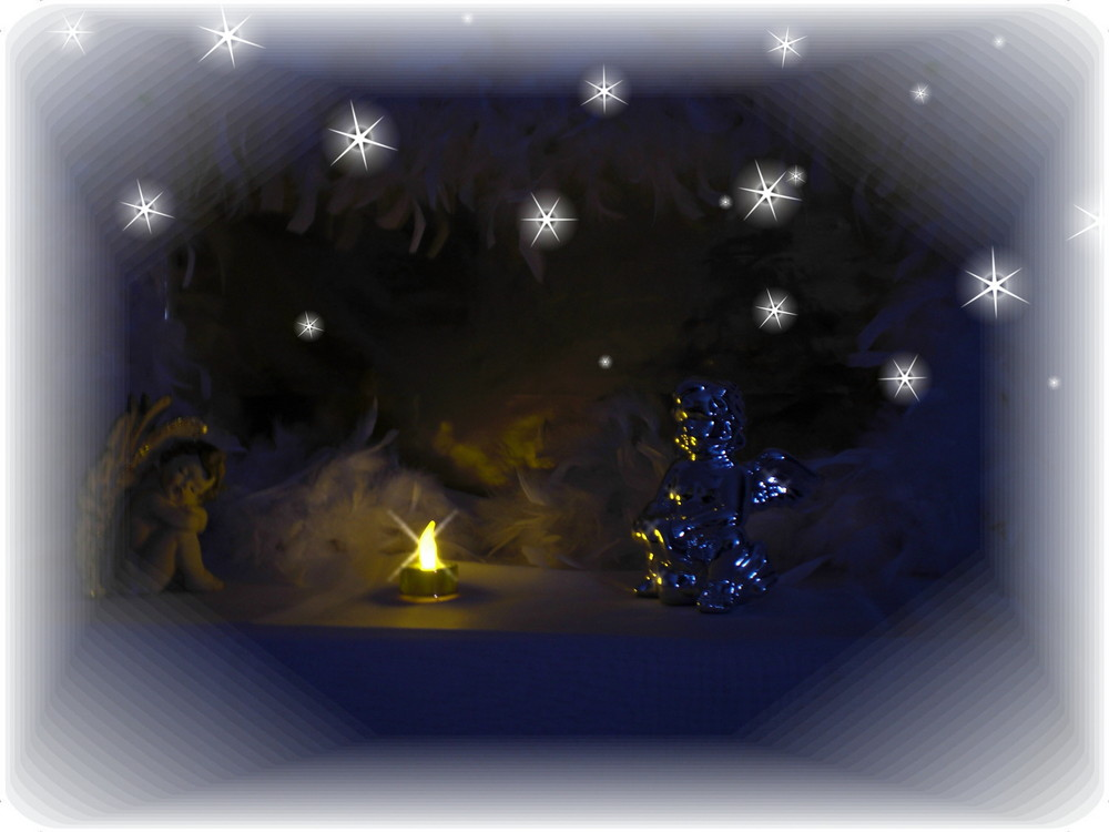 Medidations-Ort für Engel