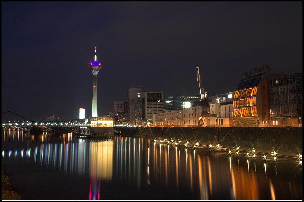 Medienhafen bei Nacht I