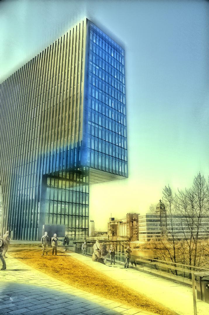 Medienhafen Düsseldorf - impressionistisch