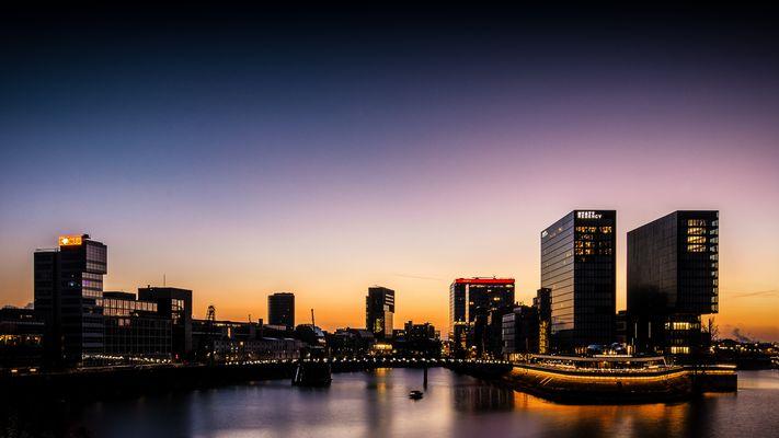 Medienhafen Düsseldorf Januar 2015