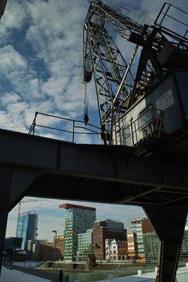 Medienhafen Düsseldorf - Kran 31