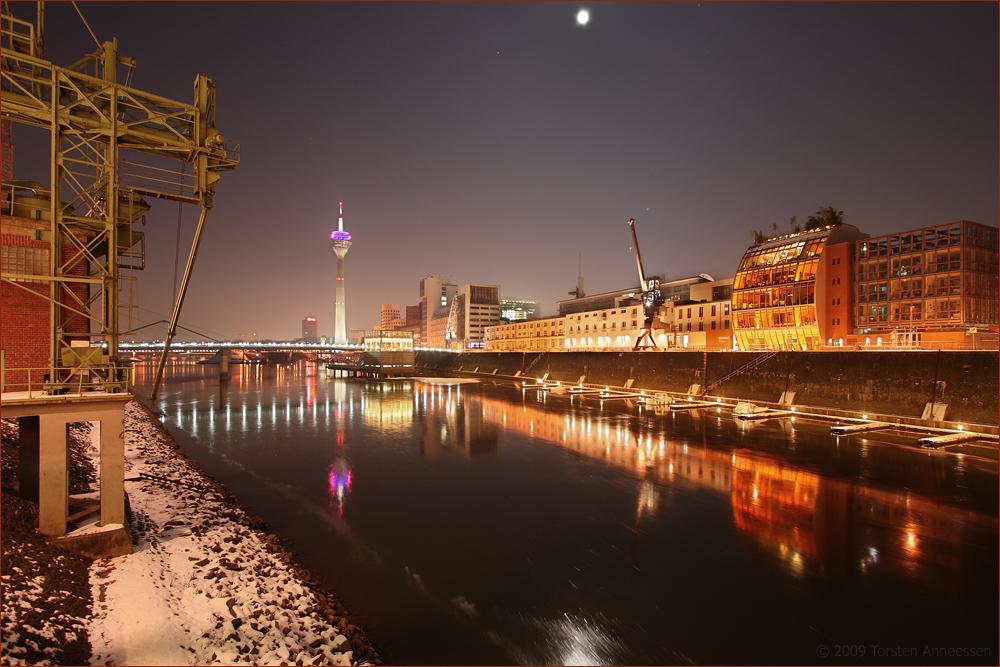 Medienhafen Düsseldorf @ Night
