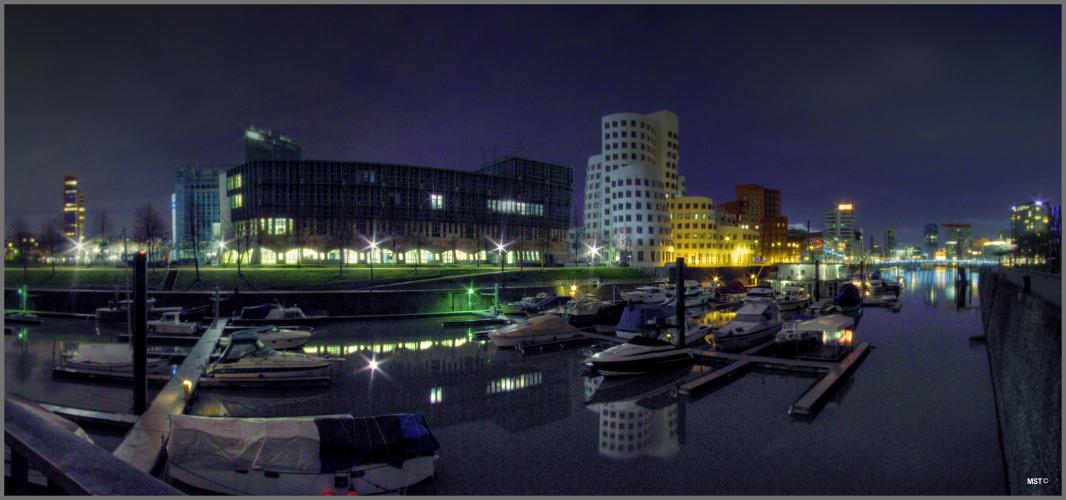 Medienhafen, Januar 2012