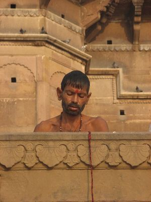meditació a Varanasi