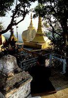 Meditation am Golden Rock