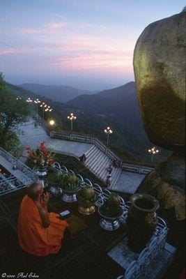 Meditation on the Kyaiktiyo (Myanmar)