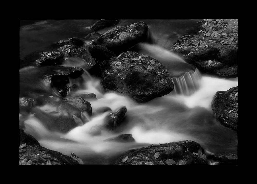 meditatives Wasserbild