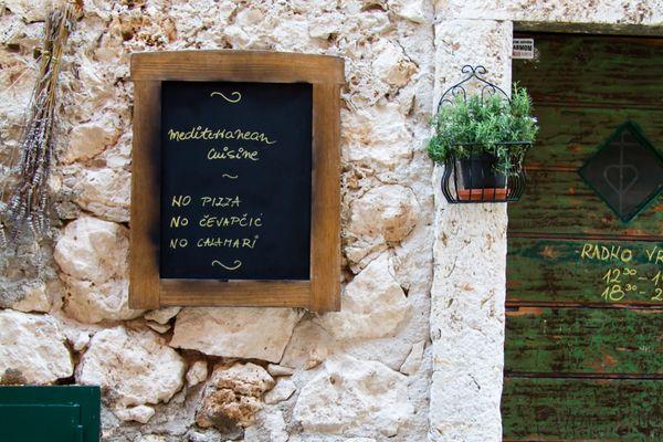 Mediterrane Küche ...