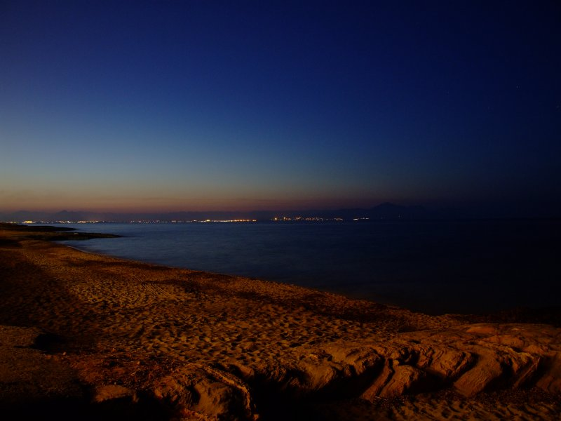 Meer bei Nacht