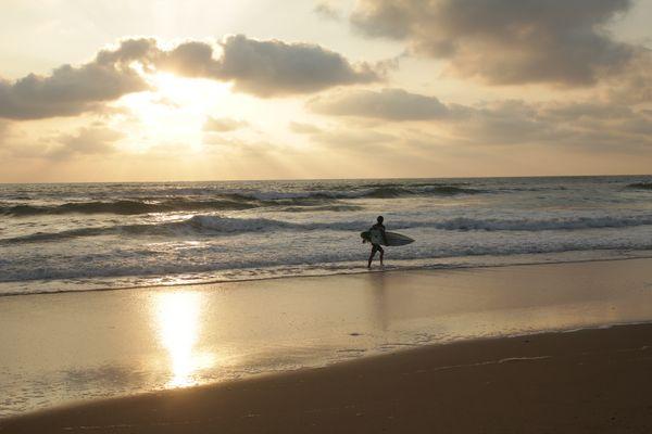 meer und surfer