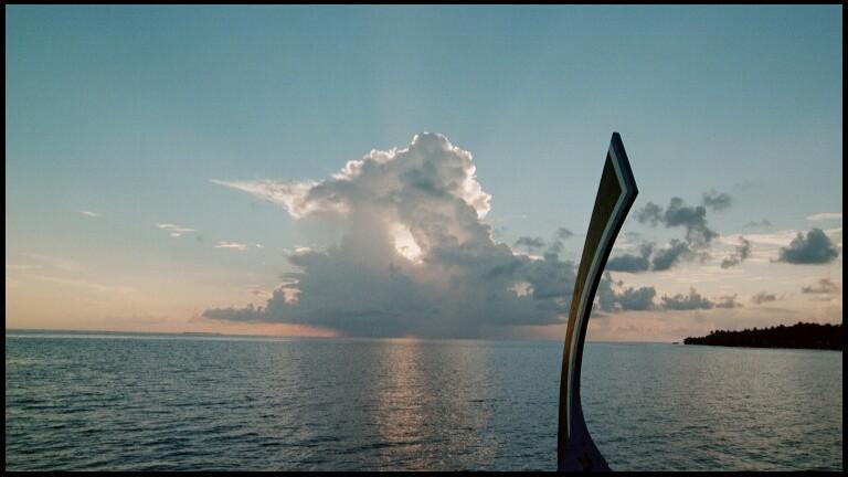 Meer und Wolken