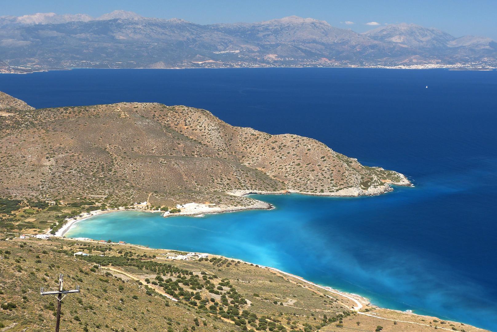 Meeresbucht bei Platanos (Kreta)