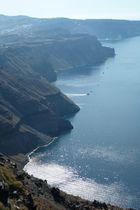 Meeresbucht…Santorini….