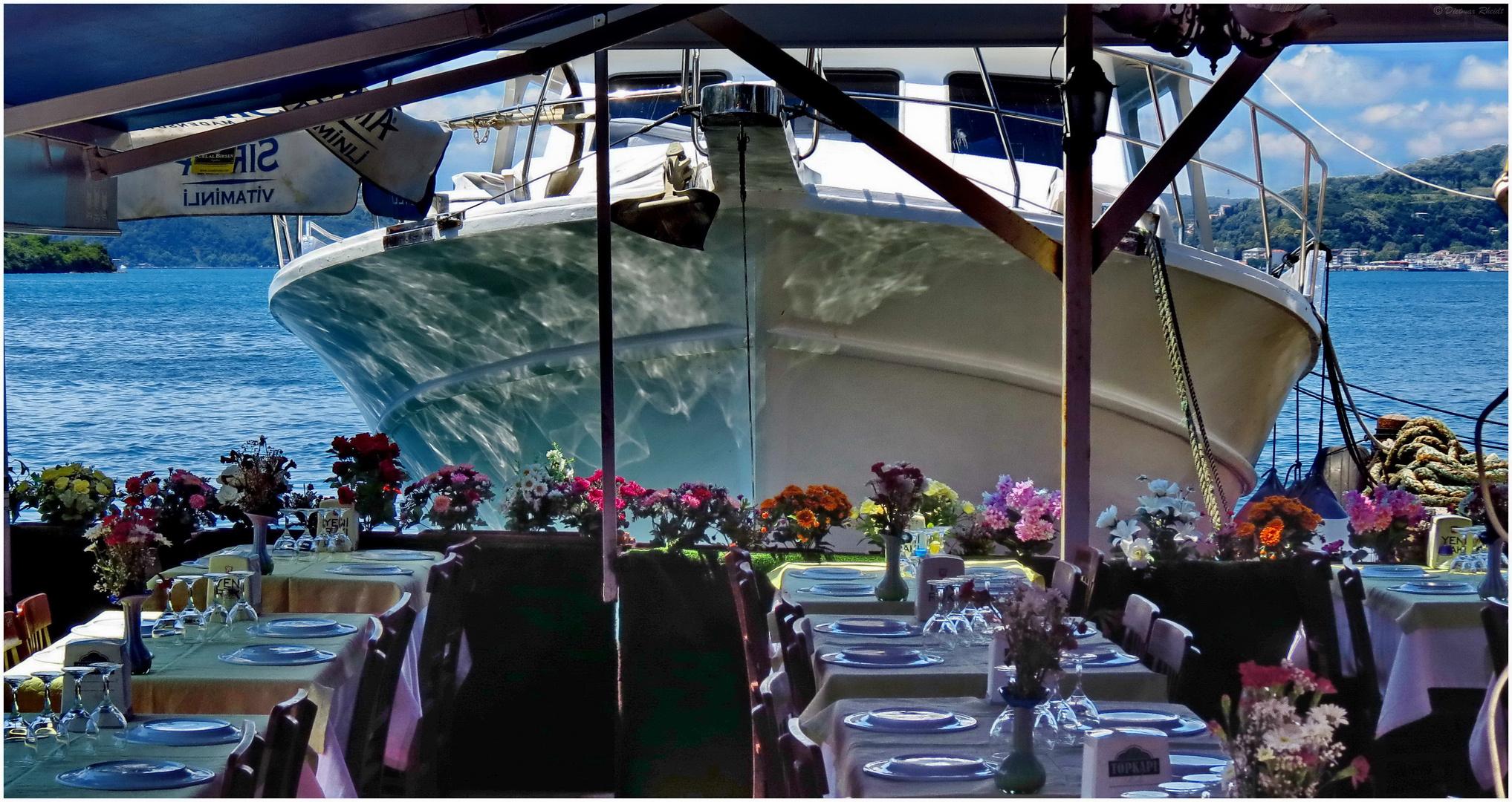 Meeresfrüchte in Anadolu Kavagi