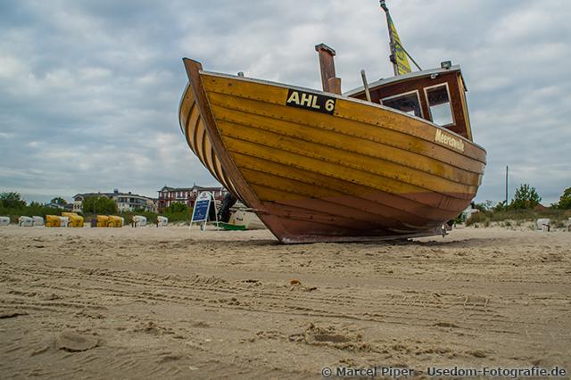 Meereswellen in Ahlbeck