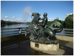Meergottbrunnen am Wöhrder See - Nürnberg