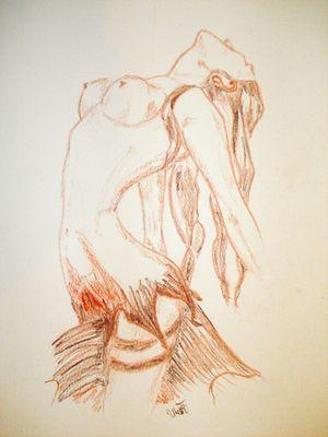 Meerjungfrau über dem Meeresspiegel