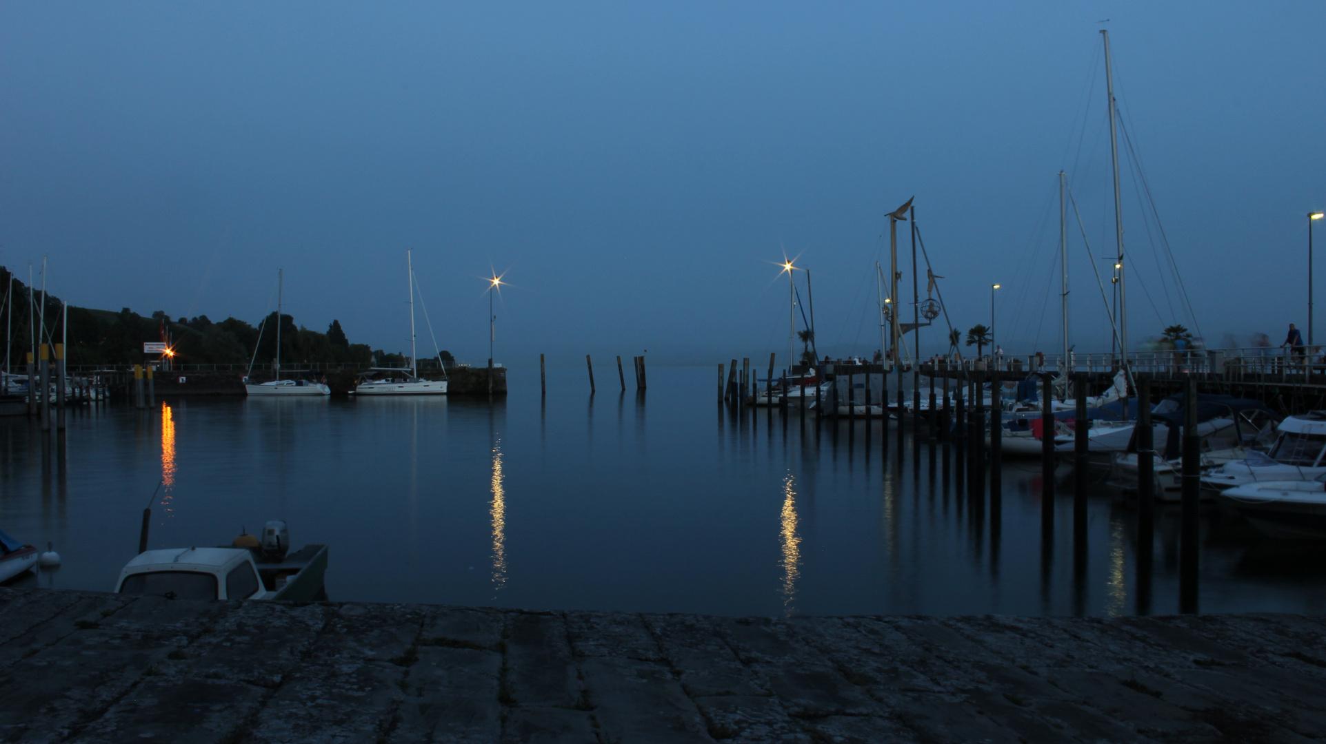Meersburg am Bodensee l Schiffe im Hafen