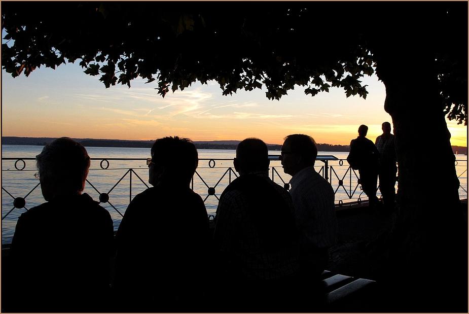 Meersburg sundown