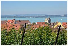 Meersburger Blick auf den Bodensee