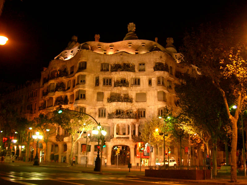Meeting Gaudi...