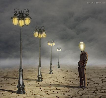 meeting of lights