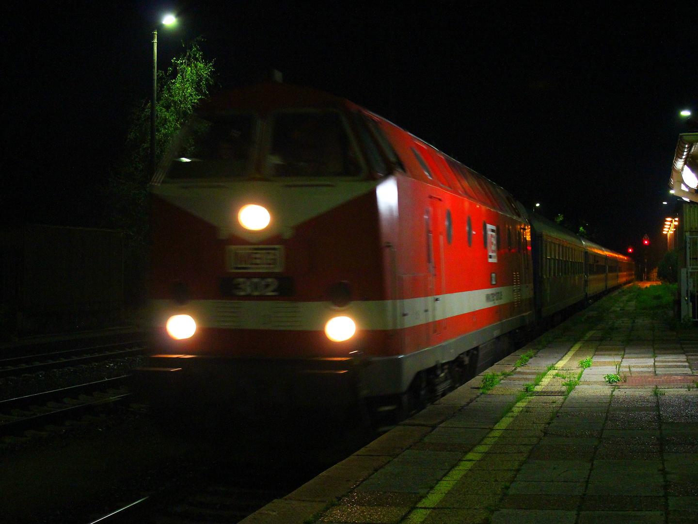 MEG 302 mit Sonderzug in Görlitz