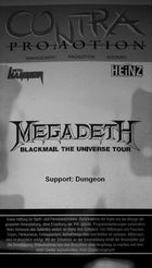 MEGADEATH@SOUNDGARDEN DORTMUND
