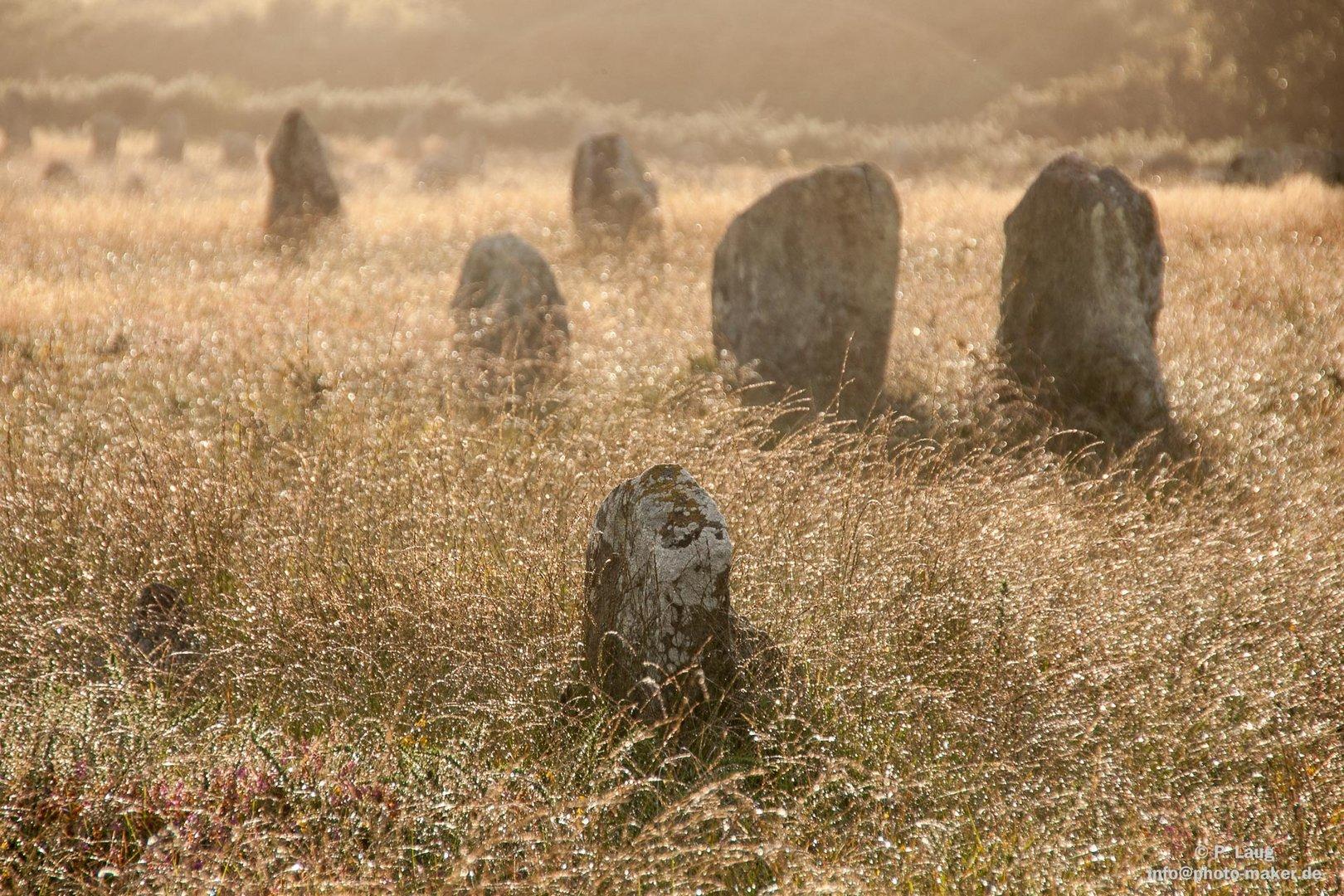 Megalitten in der Bretagne
