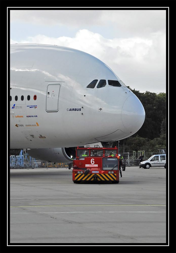 mehr als 300 Tonnen am rollen......