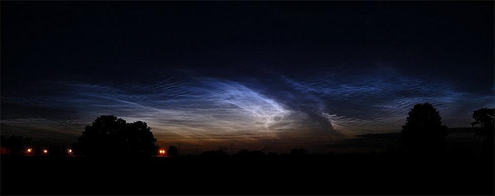 Mehr Leuchtende Nachtwolken