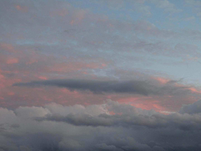 Mehrfarbiges Himmel