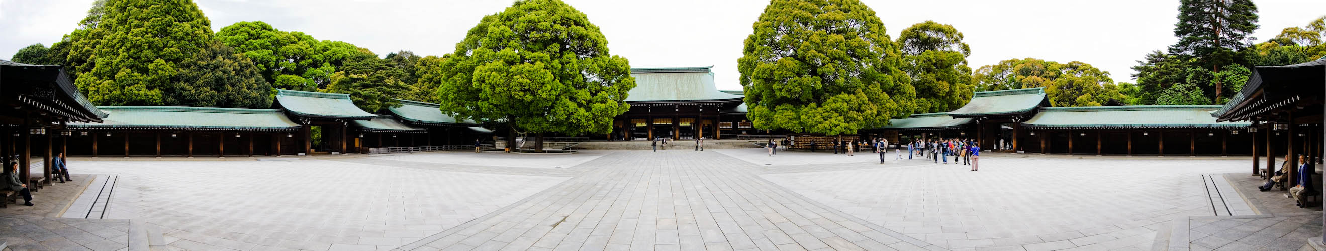 Meiji Tempel in Tokyo
