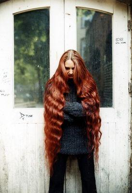 Meike mit den roten Haaren