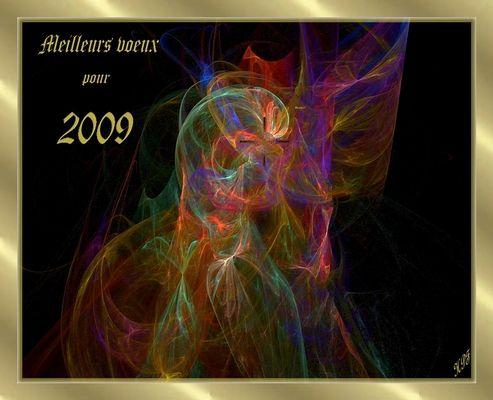 Meilleurs voeux à tous pour 2009