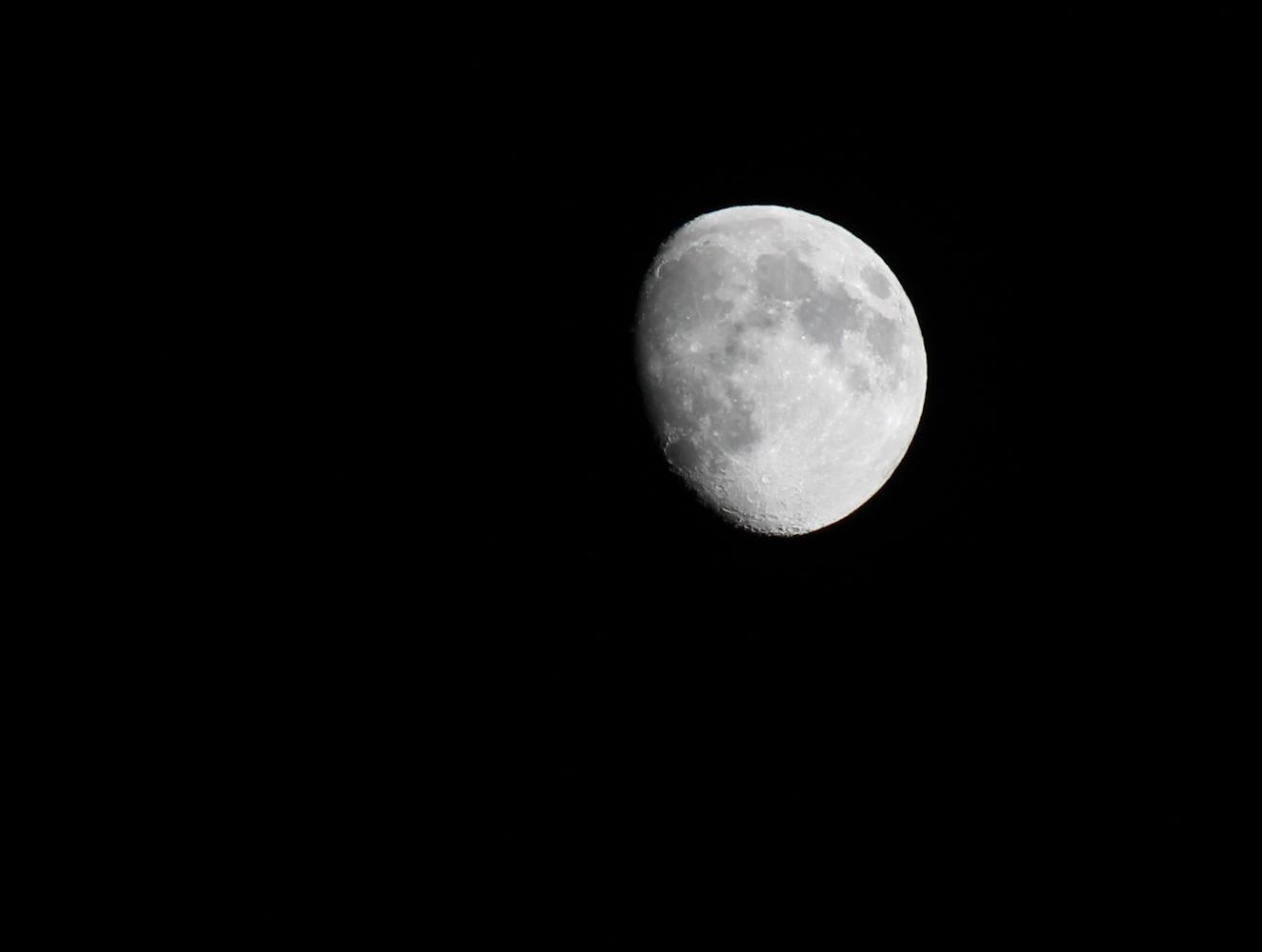mein 1. Mondversuch :-)