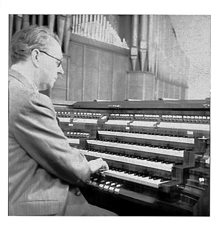 Mein 1972 verstorbener Großvater Franz Janssen an seinem geliebten Arbeitsplatz - . . .