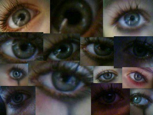 Mein Auge!