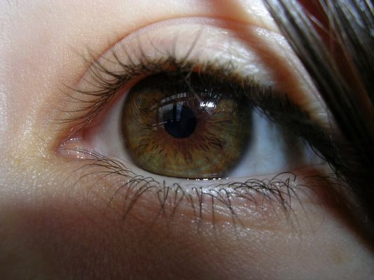 Mein Auge...
