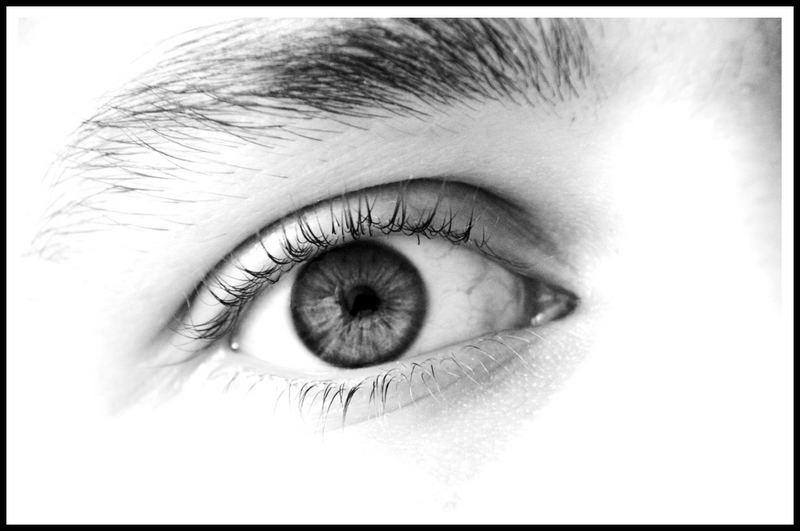 Mein Auge in S/W