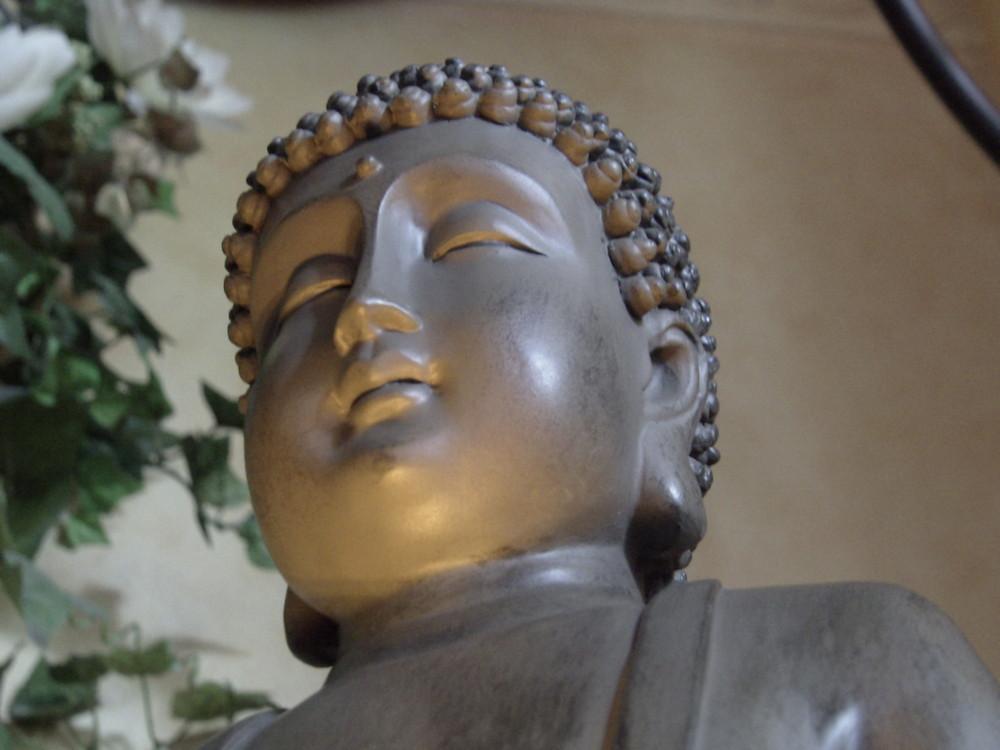 Mein beleuchteter Buddha