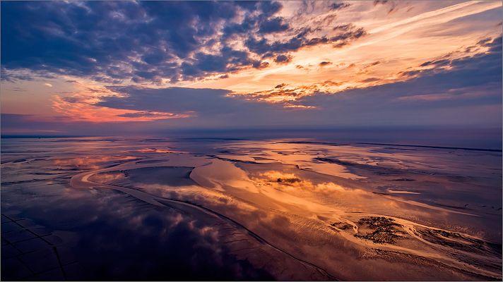 Mein bestes Kopterfoto (Das Weltnaturerbe Wattenmeer II)