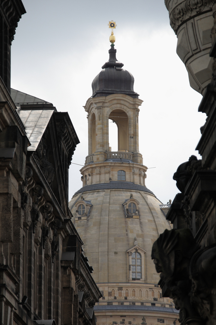Mein Blick auf die Frauenkirche