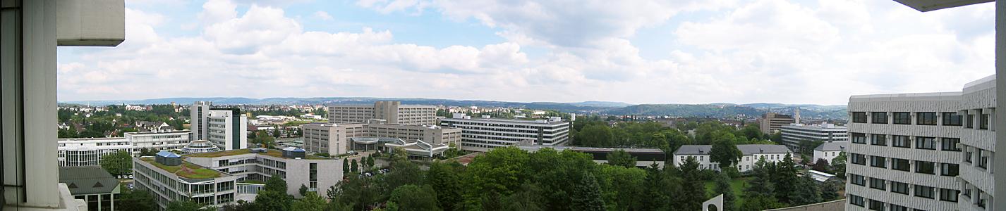 Mein Blick aus dem Krankenhaus
