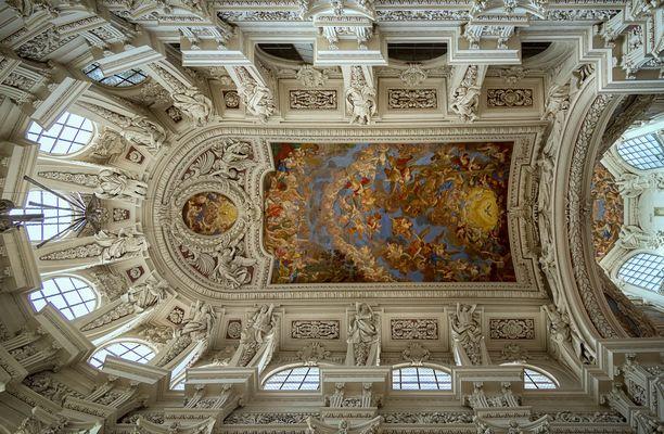 """Mein """"Blick nach Oben """" im Chor vom Stephansdom zu Passau"""