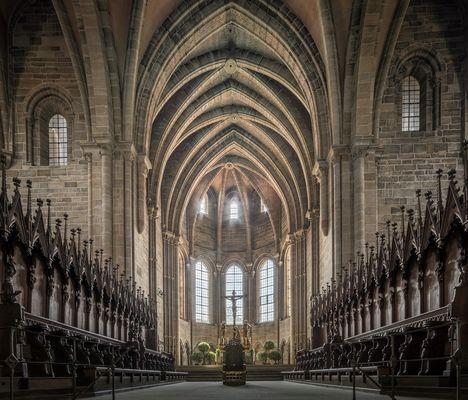 """Mein """"Blick zum Westchor """" im Bamberger Dom St. Peter und St. Georg"""