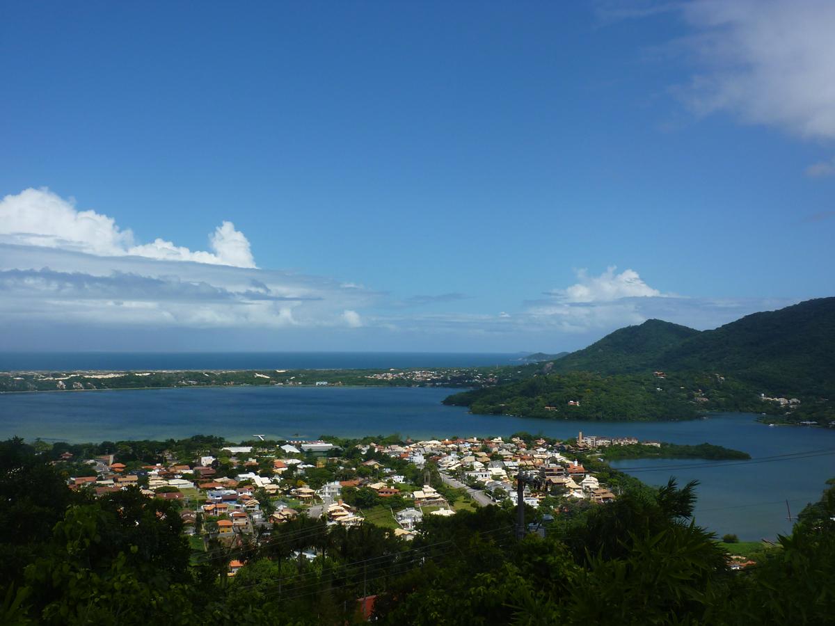 Mein brasilianisches Heim von oben gesehen