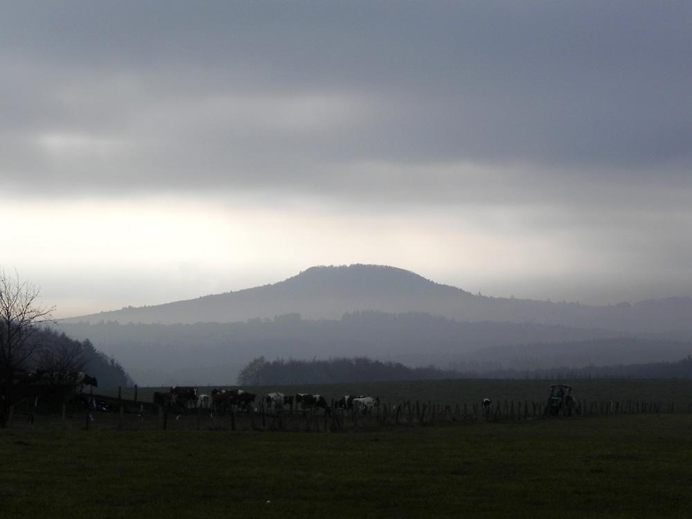 Mein Eifel-Kilimanjaro wenn der Nebel sich lichtet